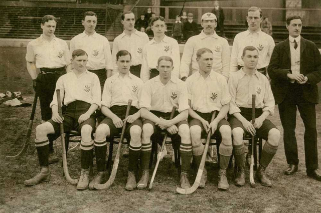 England Field Hockey Team - Men - 1906