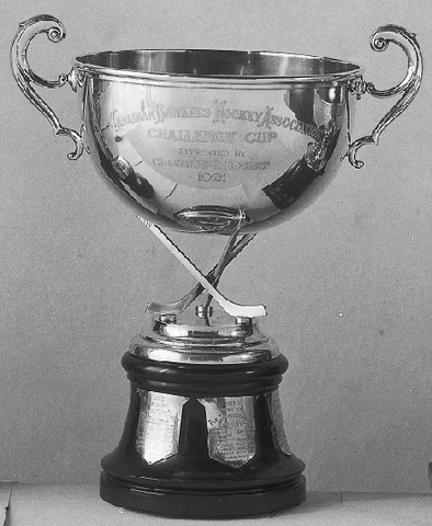 Canadian Bankers Hockey Association - Trophy - 1921