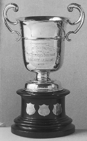 The Montreal Bankers Hockey League Trophy - 1923