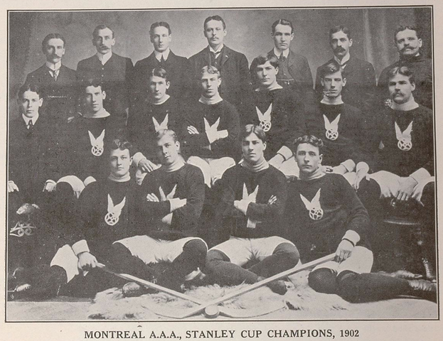 Montreal AAA - Stanley Cup Champions - 1902 - Little Men of Iron