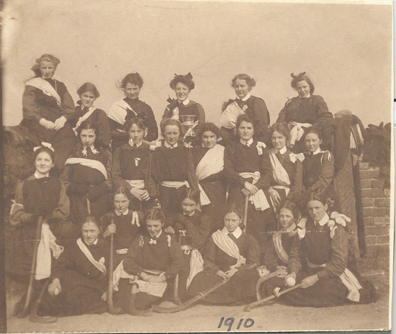 St. Mary's Layton Hill Convent Ladies Field Hockey Team - 1910