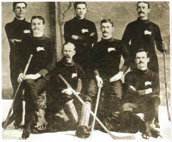 Winnipeg Victorias - Stanley Cup Champions - 1896 - February