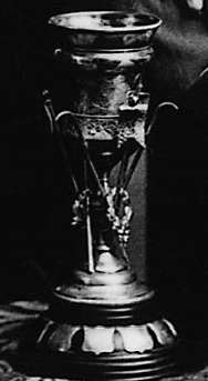 Ice Hockey Trophy won by the Junior Victorias of Montreal - 1896