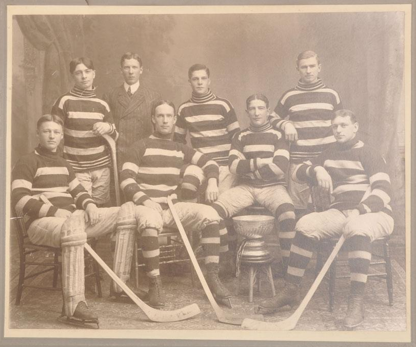 Ottawa Silver Seven Stanley Cup Champions 1905 1906