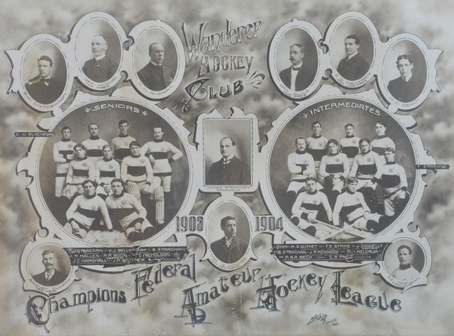 Wanderer Hockey Club - Champions Federal Amateur Hockey League 1904