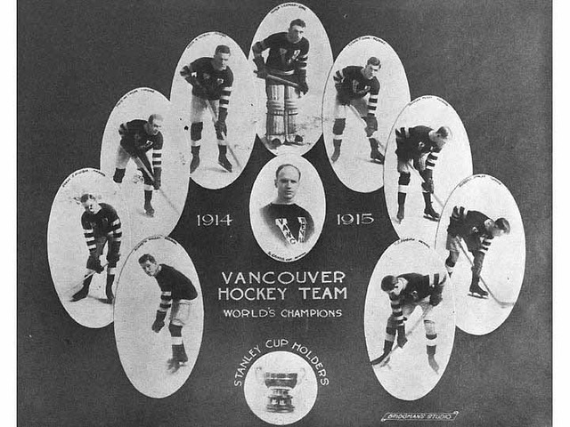 Vancouver Hockey Club - Stanley Cup Champions - 1915