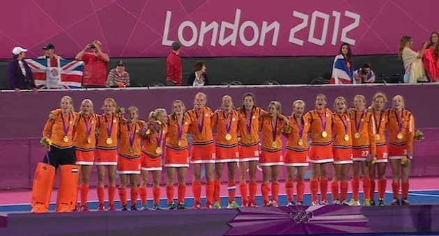 The Netherlands - Olympic Gold Medal Champions - 2012