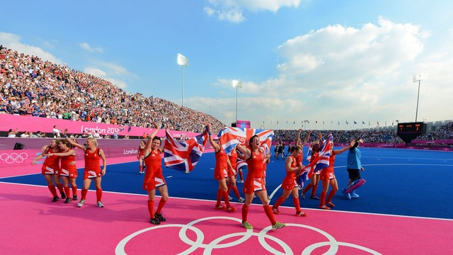 Great Britain Women's Hockey - Lap of Honour - Riverbank Arena