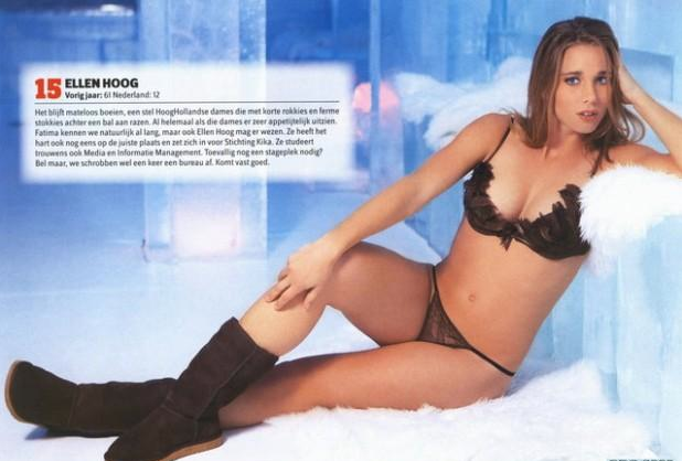 Ellen Hoog - Field Hockey Goddess in Lingerie