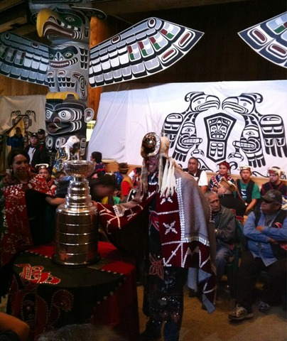 First Nations Community Commemorate Willie Mitchell Stanley Cup