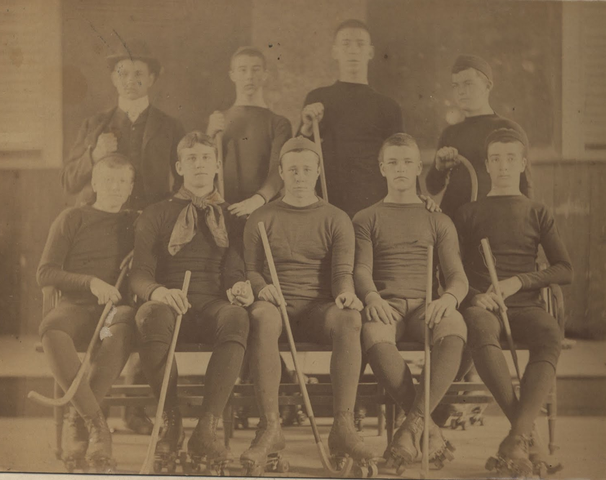 Roller Polo Team - 1885 - The Governor's Academy