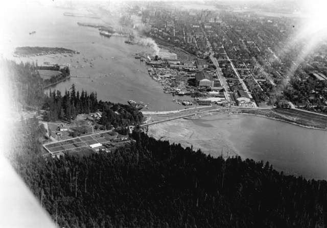 Denman Arena - Vancouver - Aerial Photo - May 27, 1919