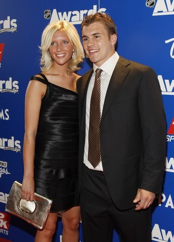 Alisha Woods and Zach Parise - Looking Good Together