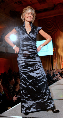 Doreen Holmgren - Flyers Wives Fashion Show - 2012