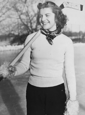 Betty Ford - The First lady of Ice Hockey - 1938