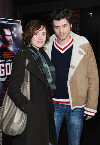 "Evelyne Brochu & Francois Arnaud at Los Angeles ""Goon"" Premiere"