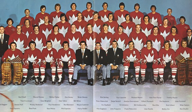 Team Canada - 1972 - Full Team - Summit Series - Super Series