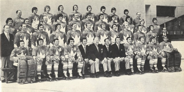 Team Canada - Full Team - Summit Series - Super Series - 1972