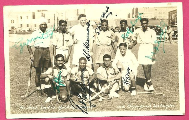 British India - Olympic Champions - 1932 - Autographed