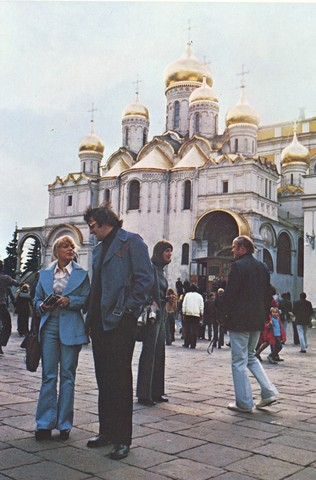 Phil Esposito Looking Cool in Moscow - September, 1972