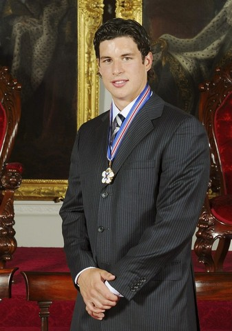 Sydney Crosby Awarded The Order of Nova Scotia in 2008