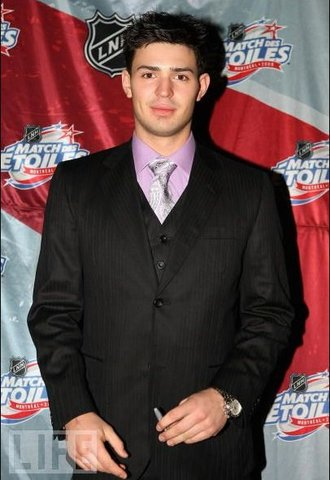 Carey Price - NHL All Star - Pin Stripe Suit - 2009