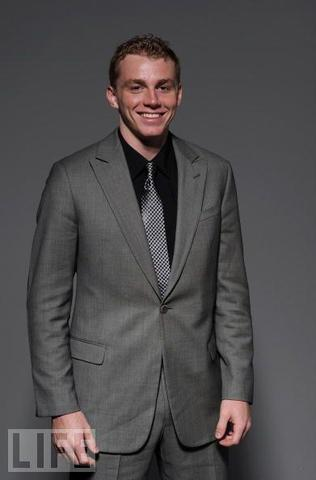 Patrick Kane - 2 Piece Grey Suit - 2010