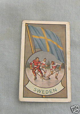 Hockey Card 1936 A Allen Sweden