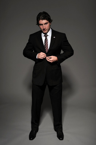 Matt Duchene - Black Suit - Looking Sharp