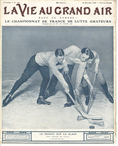 Le Hockey Sur La Glace - Championship of France - 1908