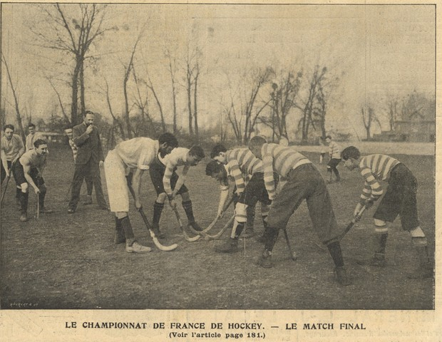 Field Hockey - Le Championnat De France De Hockey - 1901 - Final