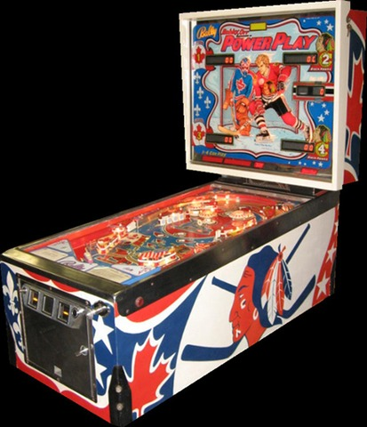 Bally - Pinball Machine - Bobby Orr Power Play - 1977