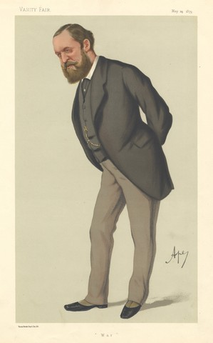The Right Honorable Frederick Arthur Stanley - Vanity Fair  1879