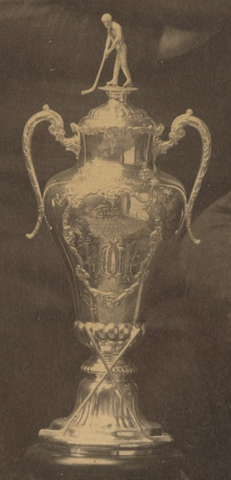 Ice Hockey Trophy - 1903 - Won By T A A Ice Hockey Team