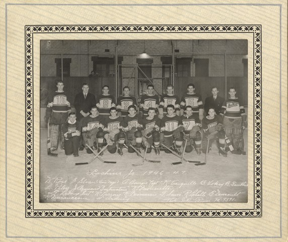 Lachine Jr Ice Hockey Team - 1947 - Montreal