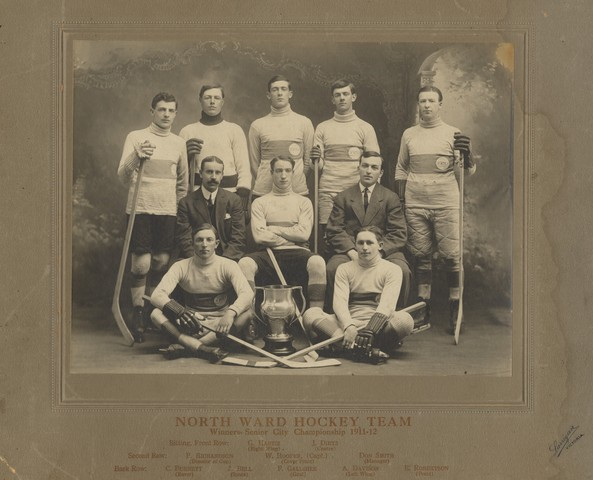 North Ward Hockey Team - Winners Senior City Championship  1912