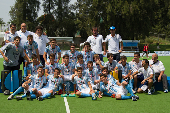 Argentina Field Hockey - Pan American Junior Champions - 2012