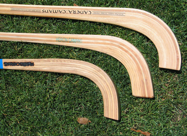 Shinty Stick / Caman Stick - Curve Types for Forwards
