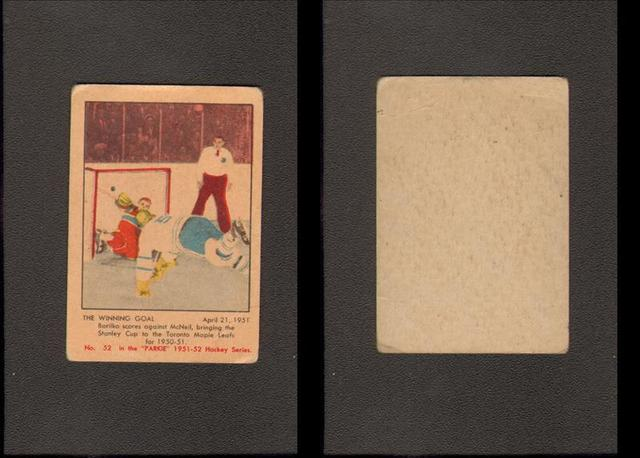 Hockey Card 1951 2