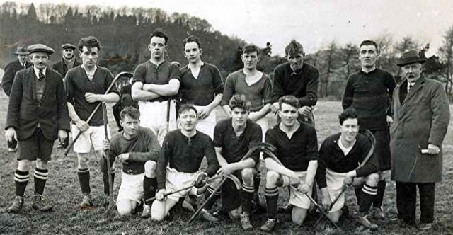 Inverness Shinty Club - Scotland - 1932