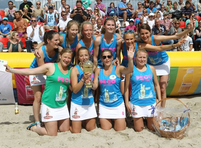 German Beach Hockey Champions - MegaMix - Women - 2012