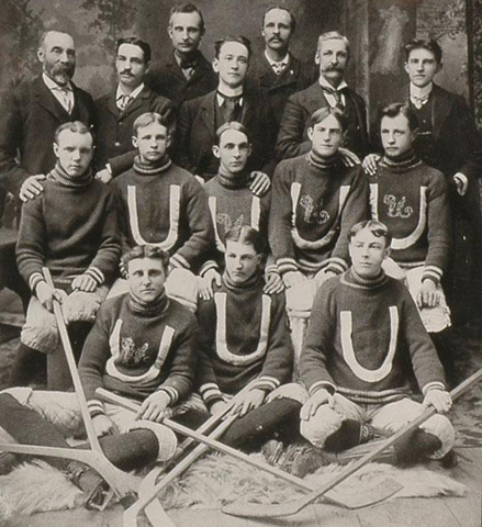 The Uxbridge Hockey Club - 1899 - 1900