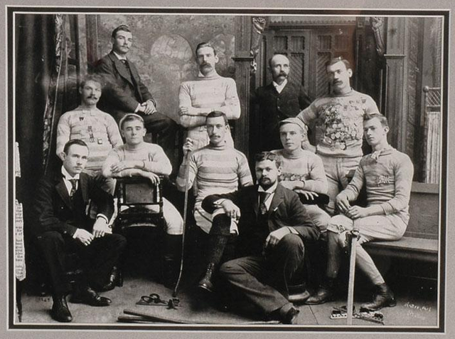 Halifax  / Dartmouth Chebucto Hockey Team - 1888 - Nova Scotia