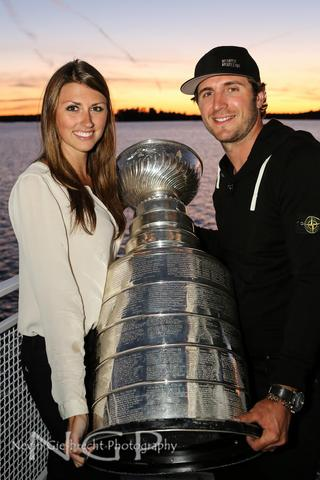 Lindsey MacDonald - The Stanley Cup - Mike Richards - Kenora