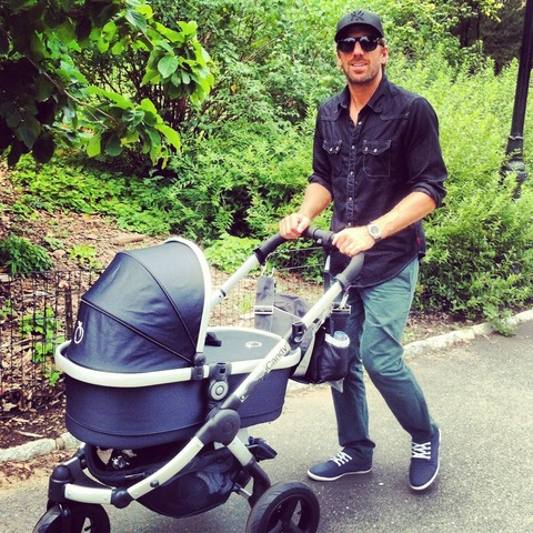 Henrik Lundqvist - Walking Daughter Charlise - ICandy Stroller