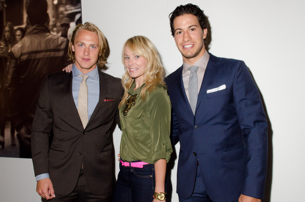 Carl Hagelin, Nic Screws & Michael Del Zotto @ J. Lindeberg