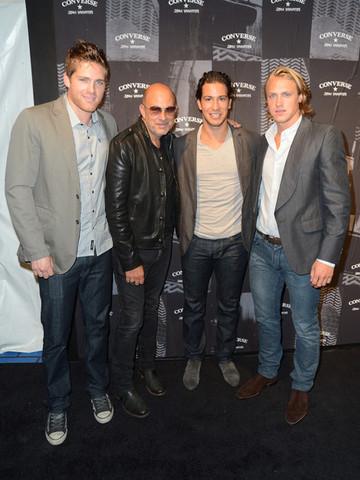 Stu Bickel - John Varvatos - Michael Del Zotto - Carl Hagelin