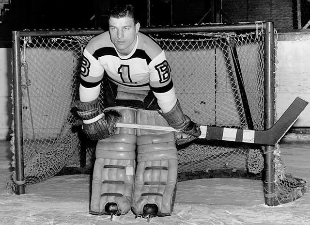 Frank Brimsek 1st Usa Born Goalie Inducted Into The Hhof Hockeygods