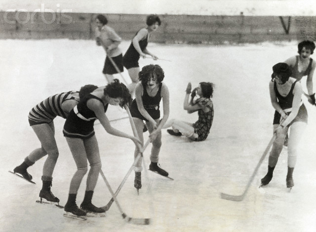 Buffalo Snow Birds - Bathing Suit Shinny - 1920s