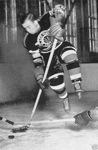 Mush March - Scored 1st Goal in Maple Leaf Gardens - 1931